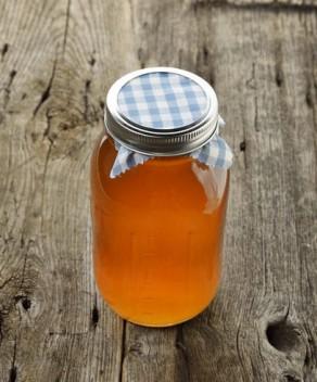 Jar Of Raw Honey