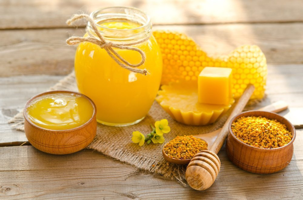 top five uses of honey
